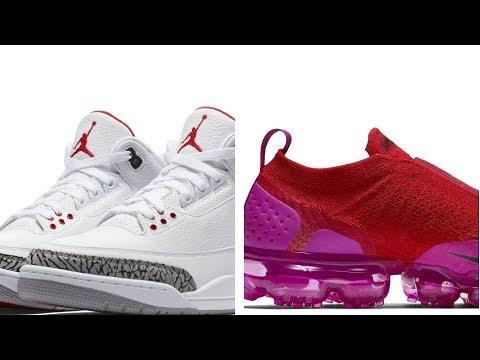 "air-jordan-3-""katrina"",-atmos-x-nike-""dark-curry,-crazy-vapormax-and-more-sneakers-on-#heatcheck"