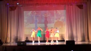 Клубные танцы в Челябинске. Школа танцев Study-on, Челябинск, 2015