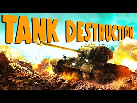 TOTAL Tank DESTRUCTION! - World of Tanks Gameplay