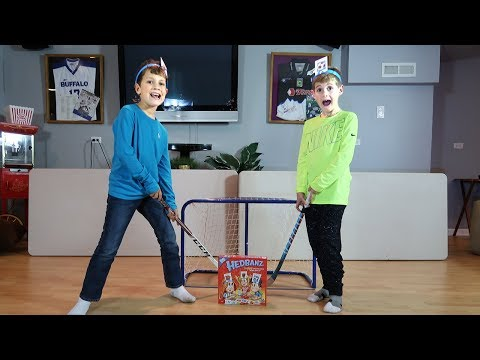 HocKey Kids  - GO One on One in Epic Family Game Night -- Hockey Rules