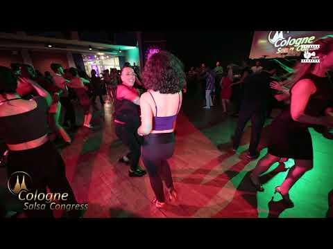 Johnny Vasquez & Larissa - Social Dancing @ Cologne Salsa Congress 2019