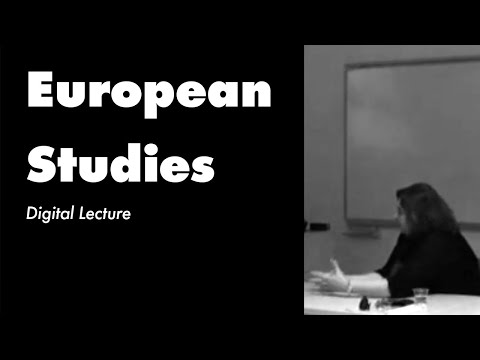 Sabancı University/European Studies - Digital Lecture - 2011