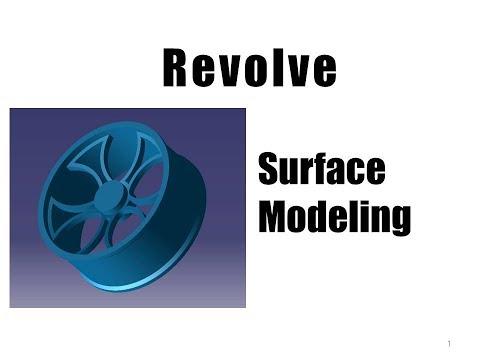 이학주-CATIA(카티아)Surface Modeling 기초강의 2교시(Revolve)