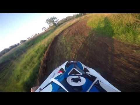 Crf110 pitbike track.. The sickest pitbike track ever.