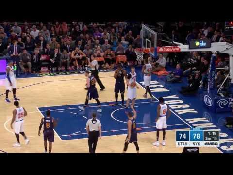 Utah Jazz at New York Knicks- November 6, 2016