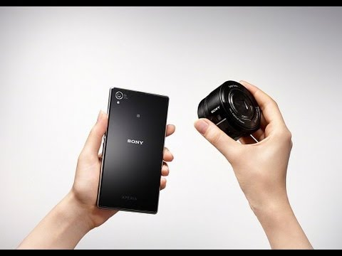 Sony'nin lens kamerası: Cyber-shot QX10