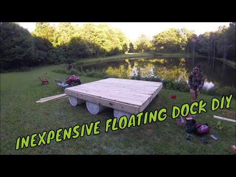 DIY Inexpensive Floating Dock Build