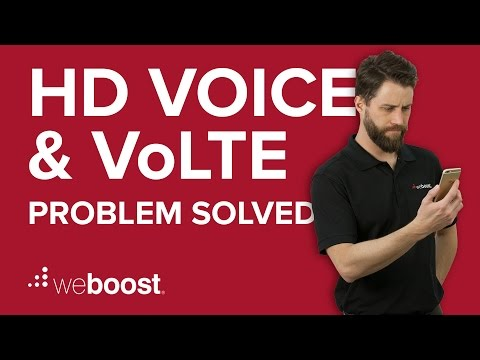 HD voice or VoLTE unable to call problem solved! | weBoost