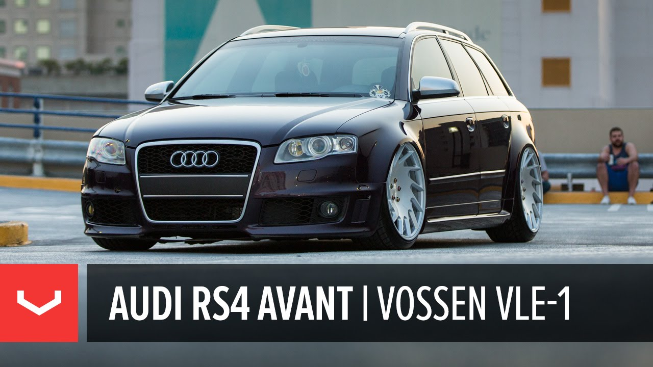Audi B7 Rs4 Avant Quot Grocery Getter Quot Vossen Vle 1 Youtube