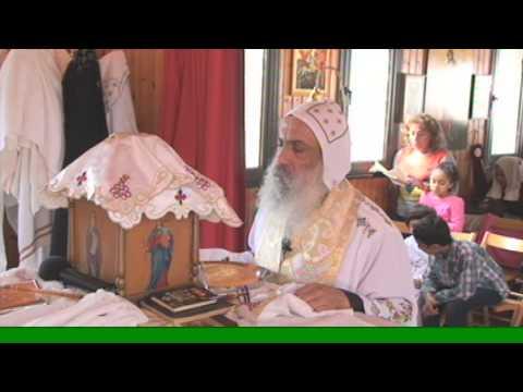كنيسة مارمرقس نيقوسيا - قبرص 24.11.2013 قداس عيد مارمينا