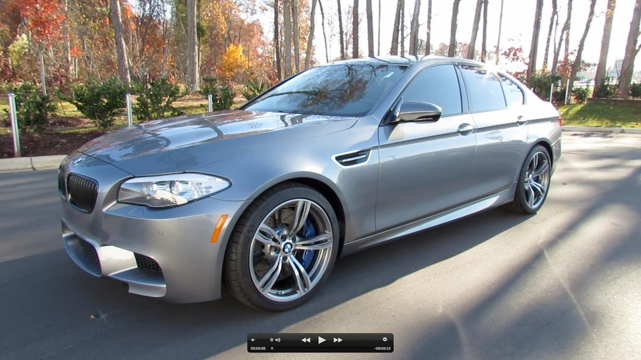 2013 bmw m5 f10 start up exhaust and in depth review youtube. Black Bedroom Furniture Sets. Home Design Ideas