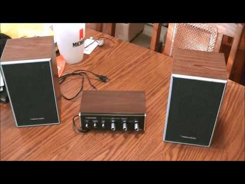 PYLE PCA4 MINI 2X120W STEREO POWER AMPLIFIER