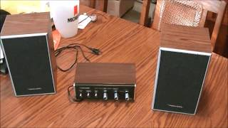 PYLE PCA4 MINI 2X120W STEREO POWER AMPLIFIER
