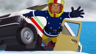 Fireman Sam US New Episodes HD | Christmas ⛄ Snow danger for the Firefighters team  🚒 🔥Kids Movies