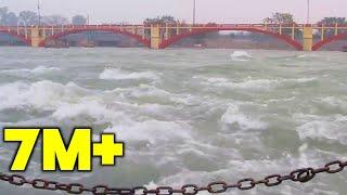 Ganga River Flow in Haridwar || Ganga Ki Pravah Haridwar Mein || Ganga River Flow Path