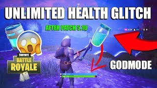 *NEW* UNLIMITED HEALTH AND SHIELDS GLITCH | GODMODE GLITCH SEASON 5 - Fortnite Battle Royale