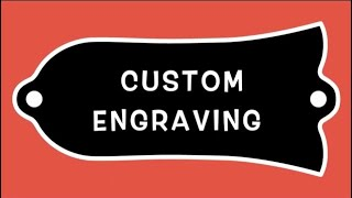 Custom-Engraved Truss Rod Covers