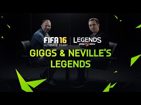 FIFA 16 | Gary Neville & Ryan Giggs pick their FUT Legends XI
