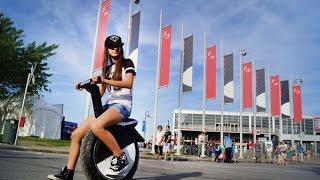 Мото электроколесо сигвей гироскутер Toxozers купить в Новосибирске! Запас хода до 100 км!(Супер новинка 2016 теперь и в Новосибирске! Одного заряда аккумулятора хватает до 100 км пробега! Мото сигвей..., 2016-05-05T06:51:15.000Z)