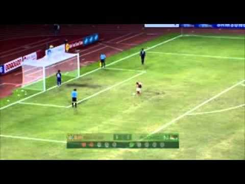 Video Indonesia vs Malaysia Semifinal Sea Games 2013