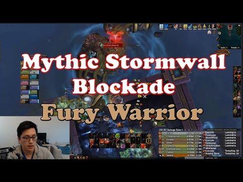 Mythic Stormwall Blockade Fury Warrior POV and Commentary
