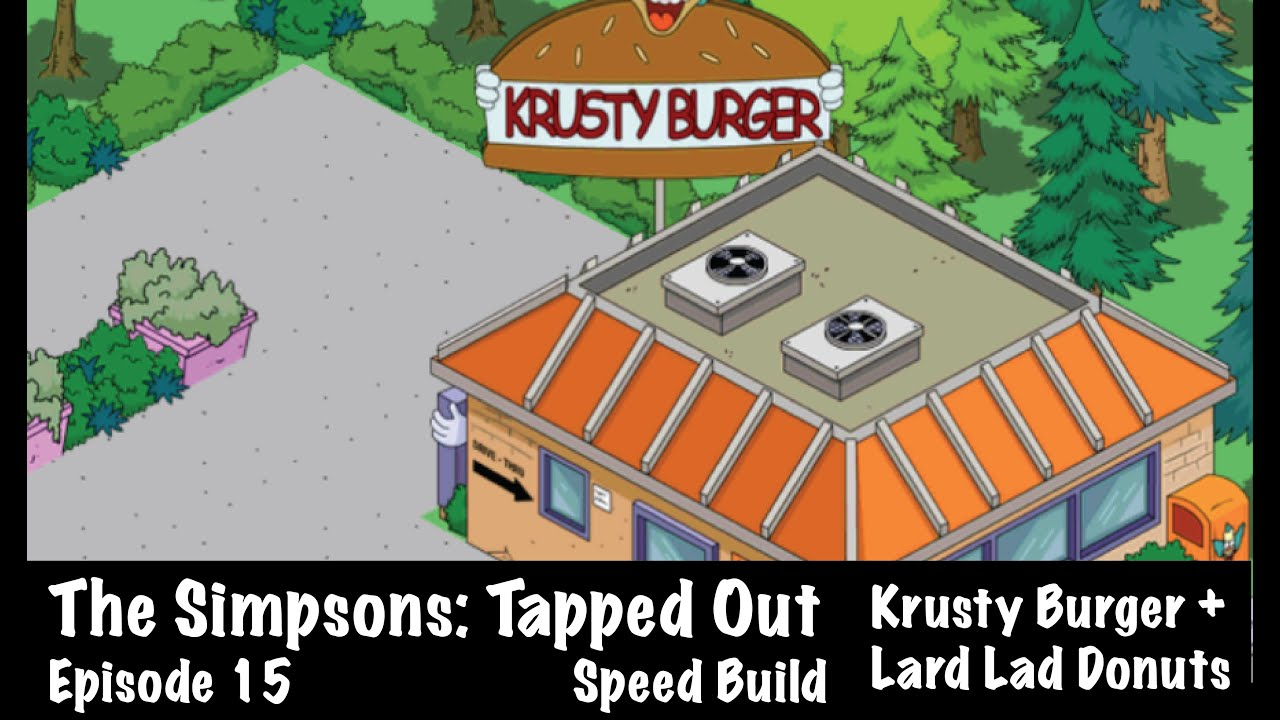 simpsons tapped out how to get krusty burger