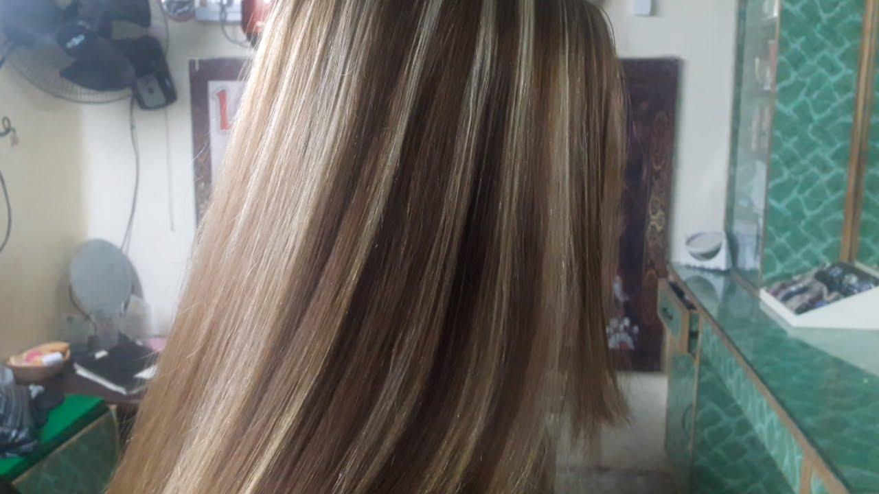 Sun Kissed Highlights For Dark Hair Tutorial Nazia Bilal Youtube