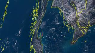 Samui Samui from Space 2019-02-20 full day timelapse