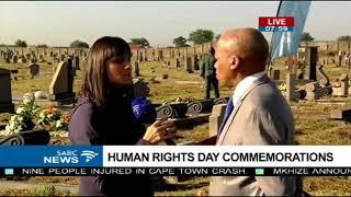 Commissioner Jonas Ben Sibanyoni on human Rights Day commemoration via SABC