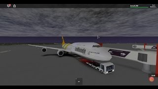 ROBLOX LeMonde Airlines FLIGHT WITH BOEING 747 IN BUSINESS CLASS!