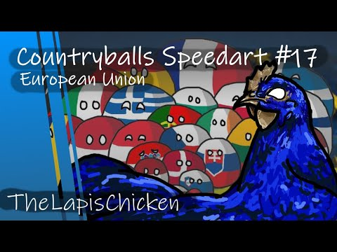 Countryballs Speedart 32 Bye Uk European Union Youtube