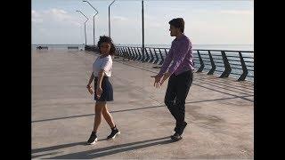 Azeri Bass Lezginka Dance Kavkaz 2019 Девушка Танцует Жарко В Баку ALISHKA NELYA ELXAN (Белый Город)