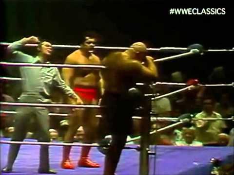 "WWWF Championship Match @ MSG- Pedro Morales Vs George ""The Animal"" Steele 6-30-73"