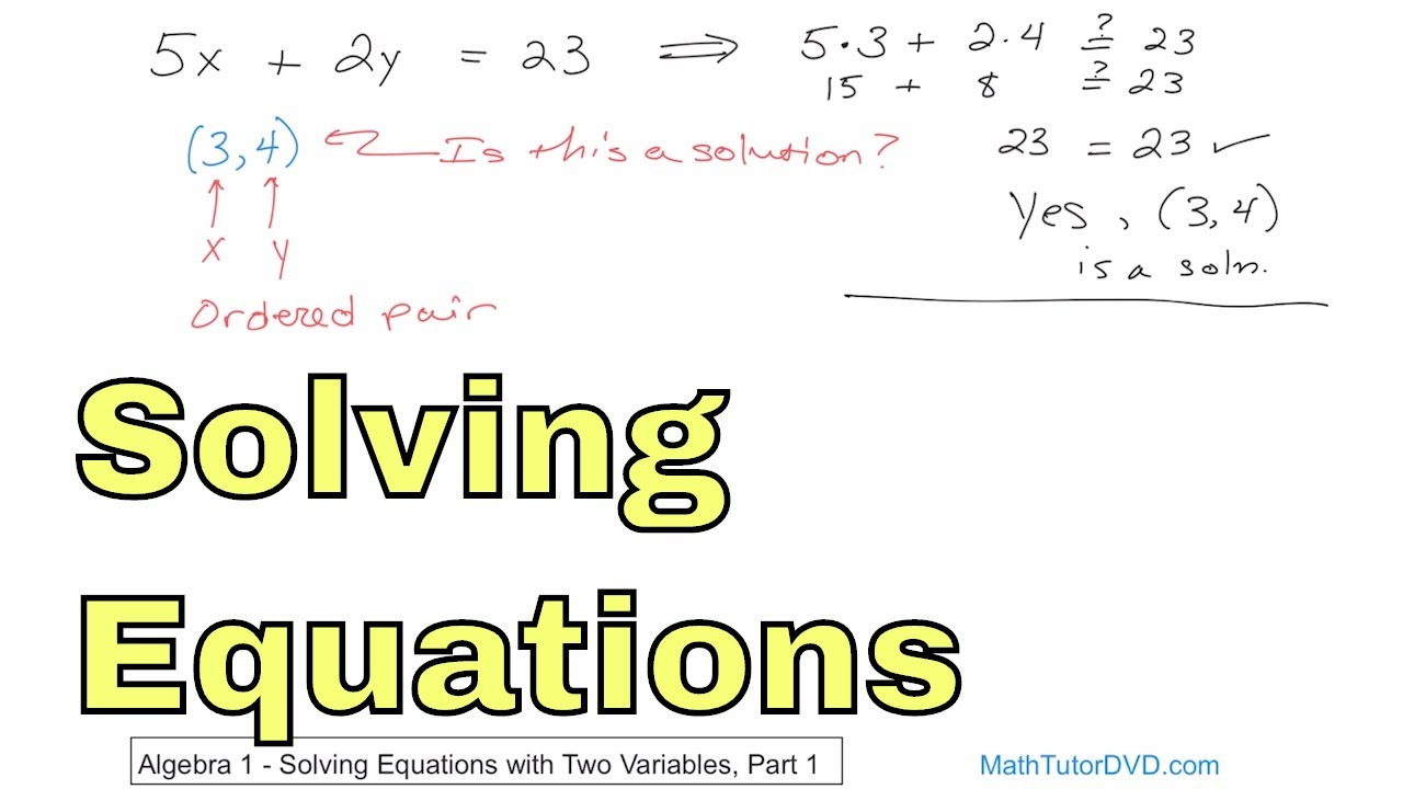 Algebra 1 Course - Unit 7 - Slope and the Equation of a Line - Math ...