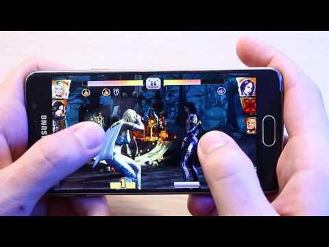 Тест Игр Samsung A3 2016 | WOT Blitz | NFS No Limits | WWE Immortals