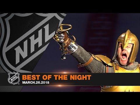Golden Knights clinch, young stars sparkle