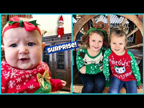 UGLY SWEATERS AND ELF ON THE SHELF SURPRISE!
