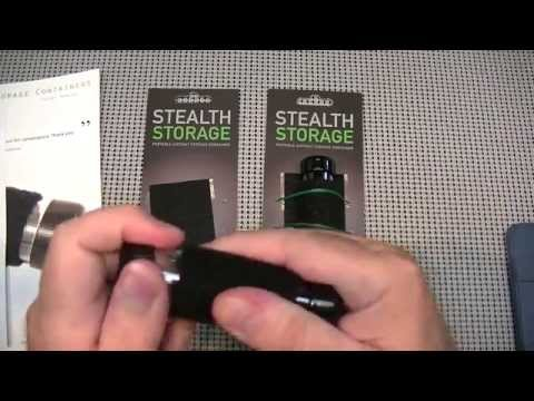 Stealth Storage made in the USA.
