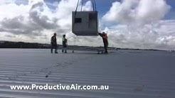 Warehouse Airconditioning Installation