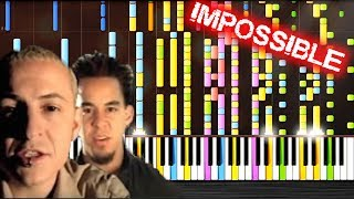 Linkin Park In The End IMPOSSIBLE PIANO By PlutaX