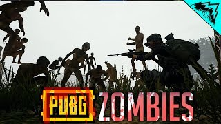 PUBG ZOMBIES ZONE - PlayerUnknown's Battlegrounds Gameplay