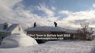 Buffalo Snow storm 2014 Lake Effect Digging out!  b-roll