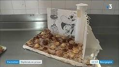 Cinq détenus de la prison de Varennes-le-Grand décrochent un CAP cuisine