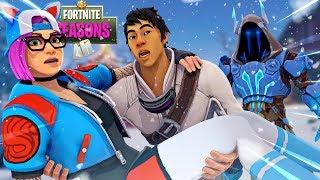 ZENITH SAVES LYNX FROM THE ICE KING?!! Fortnite Season 7 Short Film