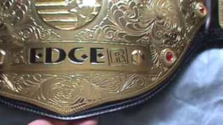 World Heavyweight Championship & Tag Team Championship Belt Collection