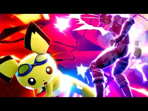 INSANE Pichu Plays In Super Smash Bros. Ultimate thumbnail
