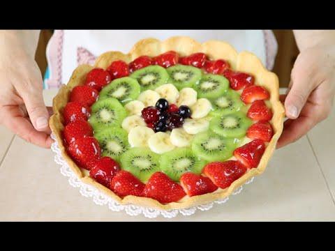 Crostata di frutta ricetta in inglese