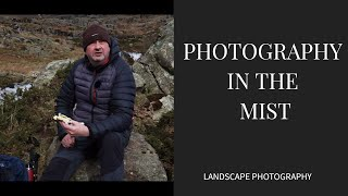 landscape photography misty quarry in b vlog 13
