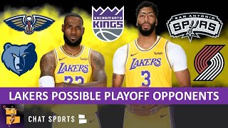 Los Angeles Lakers: Ranking La's Potential 2020 Nba Playoff Opponents I Pelicans, Grizzlies & Spurs