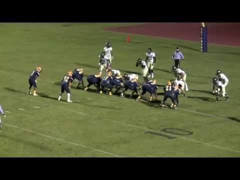 Rocky Mount High School Gryphons Football - Game Highlights vs. South Johnston HS - 11/20/15